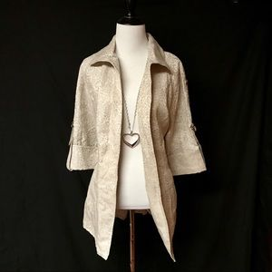NWT Sharon Young Dress Jacket
